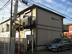 東栄ハイツE[1階]の外観