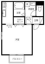 アクシス千代田[2階]の間取り