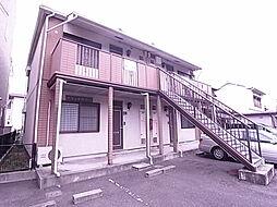 兵庫県神戸市垂水区瑞ケ丘の賃貸アパートの外観