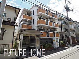 兵庫県神戸市東灘区田中町2丁目の賃貸マンションの外観