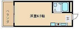 兵庫県神戸市垂水区平磯2丁目の賃貸マンションの間取り