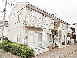 埼玉県東松山市松山町2丁目の賃貸アパートの外観