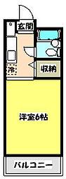 青木葉センタービル[2階]の間取り