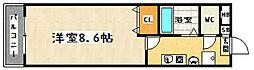 フロラシオン[303号室]の間取り