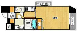 大阪府大阪市淀川区塚本2丁目の賃貸マンションの間取り