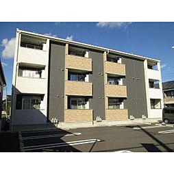 茨城県水戸市渡里町の賃貸アパートの外観