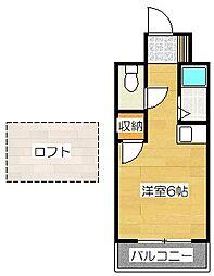 OKAZAKIビル[305号室]の間取り