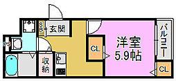 FStyle南安井町[2階]の間取り
