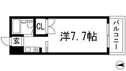 兵庫県伊丹市荻野7丁目の賃貸アパートの間取り