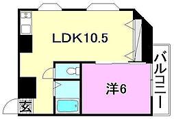 KBコート本町1[305 号室号室]の間取り