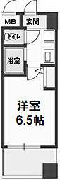 ホープシティー天神橋[B-1412号室]の間取り