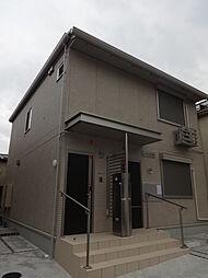東京都府中市本宿町3丁目の賃貸アパートの外観
