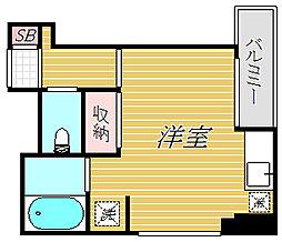 アクシス亀戸[4階]の間取り