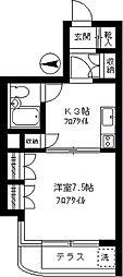 アサヒ電機産業ビル[103号室]の間取り