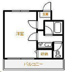 Amico淀川[402号室]の間取り
