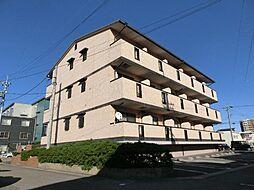 愛知県北名古屋市沖村西ノ郷の賃貸マンションの外観