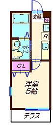 ハーミットクラブハウス六角橋IIIA棟(仮)[1階]の間取り