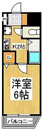 フジ・マテリアルマンション[2階]の間取り