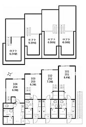 ハーミットクラブハウス鶴見生麦IIB(仮称)[1階]の間取り