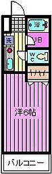 コンフォートマンション桜木町[838号室]の間取り