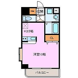 ロータリーM長田東[505号室]の間取り