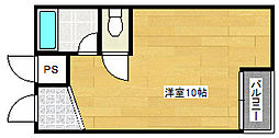 シータイガー1[2階]の間取り