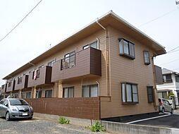 岡山県倉敷市二日市の賃貸アパートの外観
