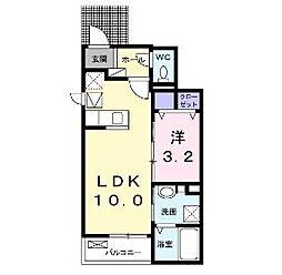 Residence 城東[1階]の間取り