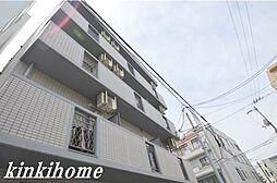 広島県広島市西区東観音町の賃貸マンションの外観