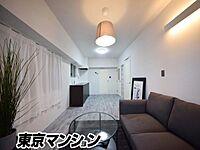 居間(新規美内装リノベーション済み 使い勝手のいい1LDKの広いお部屋 お気軽にお問い合わせください )