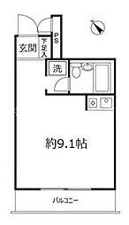 パーク・ノヴァ横浜壱番館[4階]の間取り
