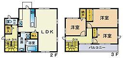 中原区上小田中六丁目新築計画(仮)[201号室]の間取り