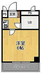 兵庫県尼崎市武庫之荘1の賃貸マンションの間取り