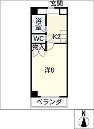 サンライズ小幡[3階]の間取り