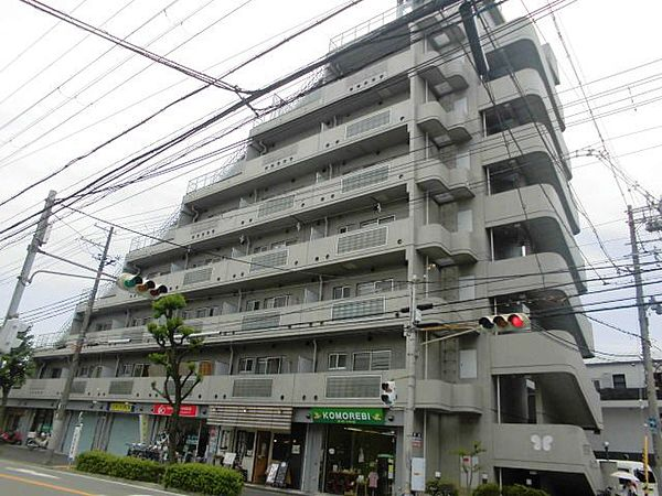 兵庫県尼崎市長洲本通2丁目の賃貸マンションの外観