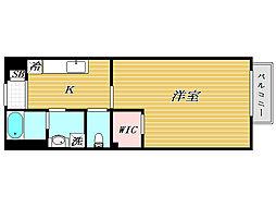 アムールCATS[2階]の間取り