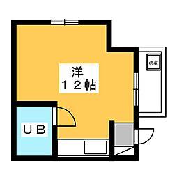 京急仙台プラザ[5階]の間取り