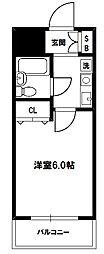 エスリード新大阪第6[5階]の間取り
