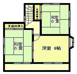 [一戸建] 東京都八王子市美山町 の賃貸【/】の間取り