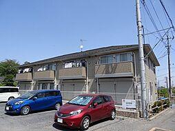 埼玉県川越市大字小堤の賃貸アパートの外観