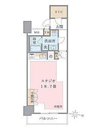 アパートメンツ東雲キャナルコート[223号室]の間取り