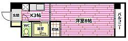 広島県安芸郡海田町幸町の賃貸マンションの間取り