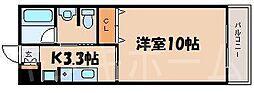 広島県広島市安芸区矢野東2丁目の賃貸マンションの間取り