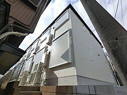 千葉県千葉市花見川区南花園1の賃貸アパートの外観