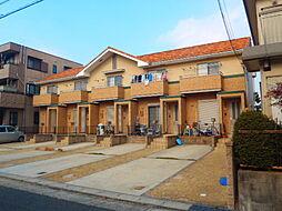 愛知県名古屋市千種区千代田橋2丁目の賃貸アパートの外観