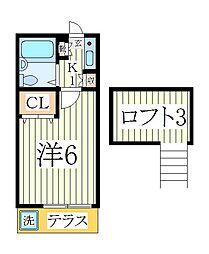 柏ガーデンフォレスト[1階]の間取り