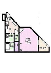 田井戸ハウスII[2階]の間取り