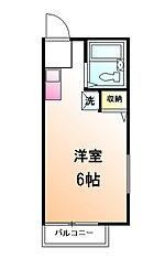 サンヒル3[1階]の間取り