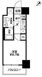 東京都豊島区目白5丁目の賃貸マンションの間取り