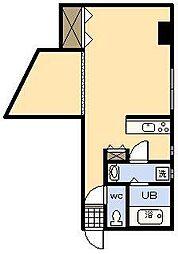 金丸ビル[305号室]の間取り